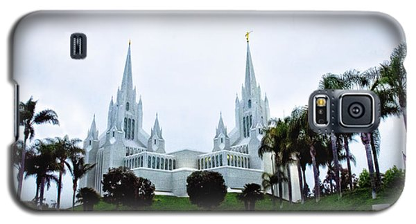 Mormon Temple La Jolla Galaxy S5 Case by Joseph Hollingsworth