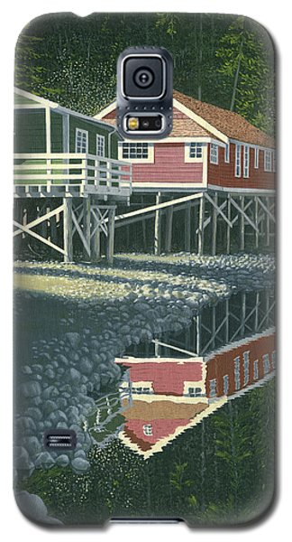 Morning At Telegraph Cove Galaxy S5 Case