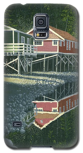 Morning At Telegraph Cove Galaxy S5 Case by Gary Giacomelli