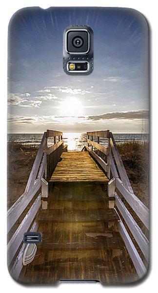 Morning Beach Light Galaxy S5 Case
