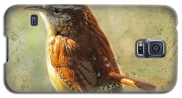 Morning Carolina Wren Galaxy S5 Case