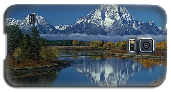 Morning Cloud Layer Oxbow Bend In Fall Grand Tetons National Park Wyoming Galaxy S5 Case