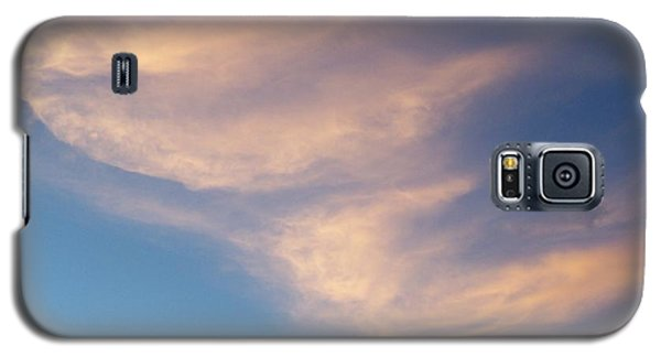 Galaxy S5 Case featuring the photograph Morning Clouds by Ron Roberts