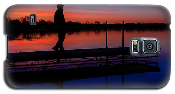 Galaxy S5 Case featuring the photograph Morning Color Forest Lake Mn by RC Pics