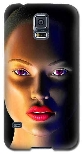 Galaxy S5 Case featuring the digital art Morning Dew by Anthony Mwangi