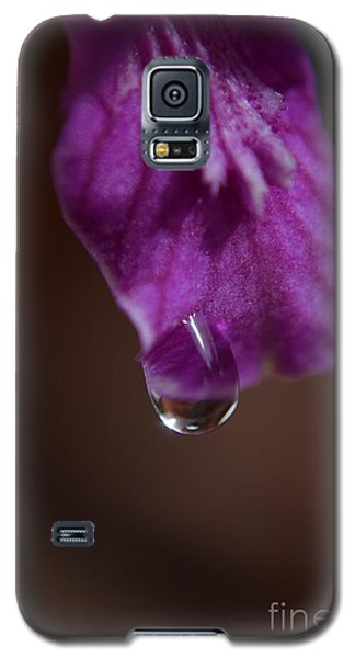 Galaxy S5 Case featuring the photograph Morning Dew by Michelle Meenawong