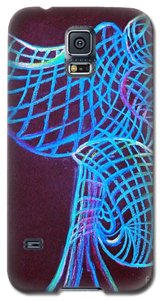 Galaxy S5 Case featuring the painting Morning Dove by Ayasha Loya