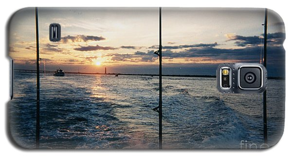 Galaxy S5 Case featuring the photograph Morning Fishing by John Telfer