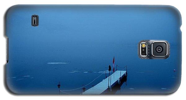 Morning Fog 001 - Skaha Lake 03-06-2014 Galaxy S5 Case