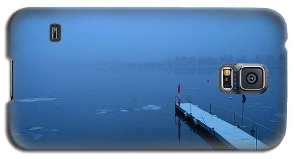 Morning Fog 002 - Skaha Lake 03-06-2014 Galaxy S5 Case