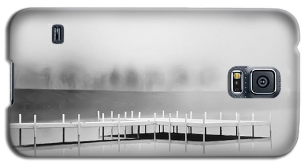 Galaxy S5 Case featuring the photograph Morning Fog Burn-off by Greg Jackson