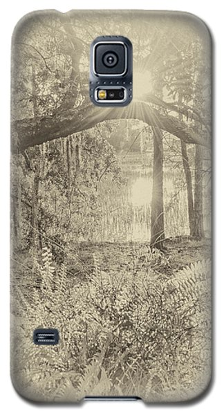 Galaxy S5 Case featuring the photograph Morning Glory by Margaret Palmer