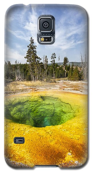 Morning Glory Pool In Yellowstone National Park Galaxy S5 Case