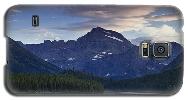 Morning Glow At Glacier Park Galaxy S5 Case by Andrew Soundarajan