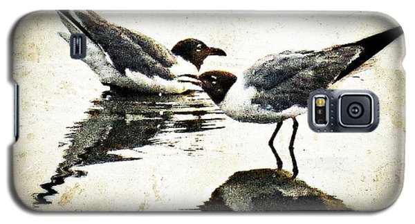Morning Gulls - Seagull Art By Sharon Cummings Galaxy S5 Case by Sharon Cummings