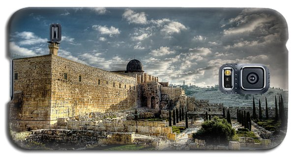 Morning In Jerusalem Hdr Galaxy S5 Case by David Morefield