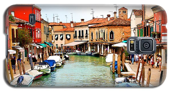 Galaxy S5 Case featuring the digital art Morning In Murano by Brian Davis