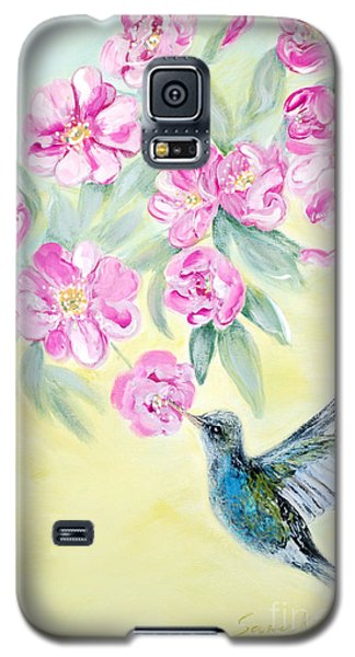 Morning In My Garden. Card Galaxy S5 Case