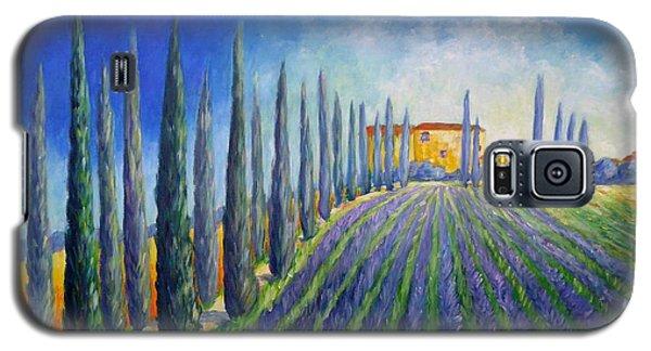 Lavender Field Galaxy S5 Case