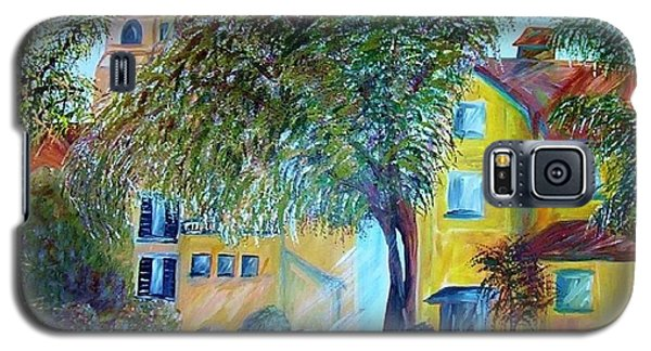 Galaxy S5 Case featuring the painting Morning In Tuscany by Eloise Schneider