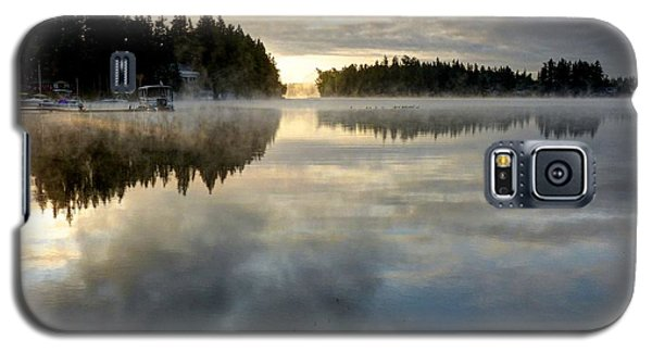 Morning Lake Reflection Galaxy S5 Case