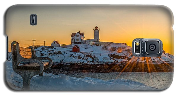 Morning Light At Nubble Lighthouse Galaxy S5 Case