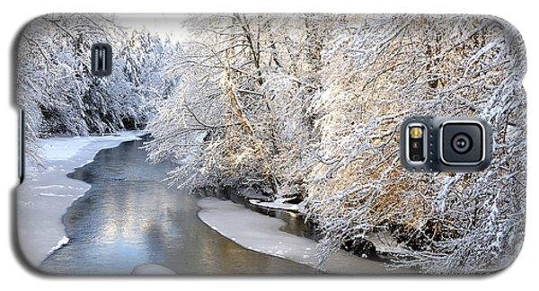 Morning Light Fresh Snowfall Gauley River Galaxy S5 Case