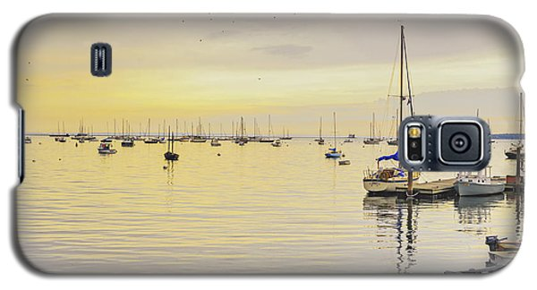 Morning Light Rockland Maine Galaxy S5 Case by Marianne Campolongo