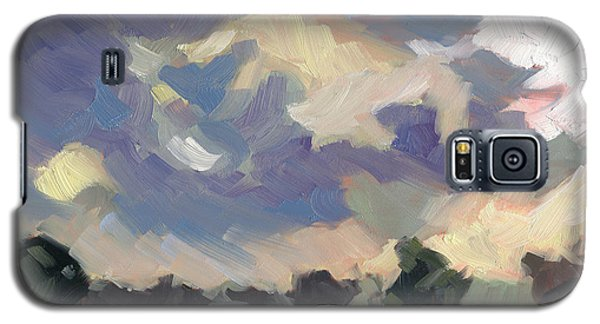 Galaxy S5 Case featuring the painting Morning Melody by Nancy  Parsons