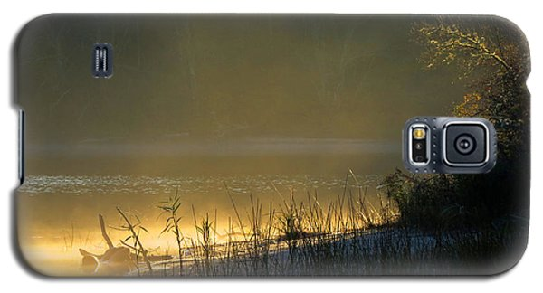 Galaxy S5 Case featuring the photograph Morning Mist by Dianne Cowen