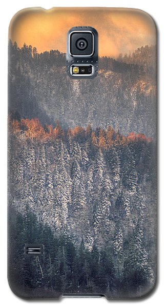 Galaxy S5 Case featuring the photograph Morning Mountains II by Rebecca Hiatt