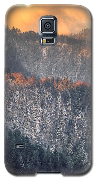 Morning Mountains II Galaxy S5 Case by Rebecca Hiatt