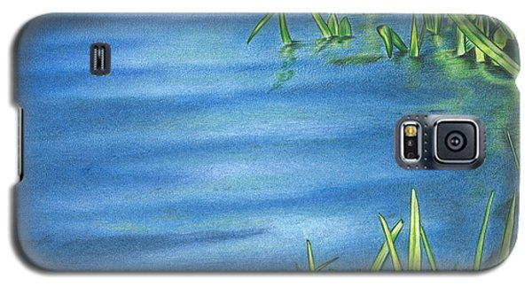 Morning On The Pond Galaxy S5 Case by Troy Levesque