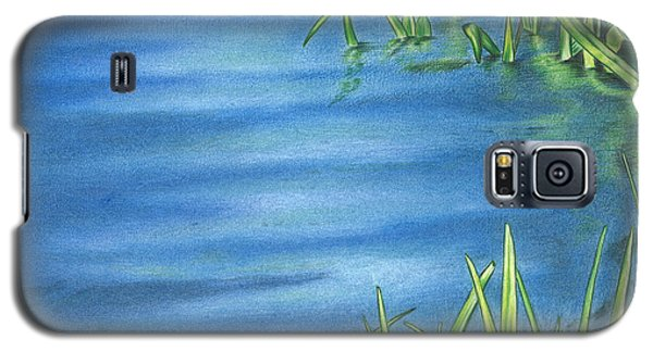 Morning On The Pond Galaxy S5 Case