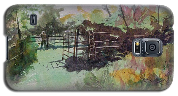 Morning On The Sheep Farm Galaxy S5 Case