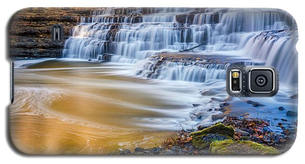 Morning On The Upper Falls Galaxy S5 Case
