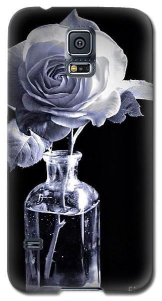 Morning Rose Cyan Galaxy S5 Case