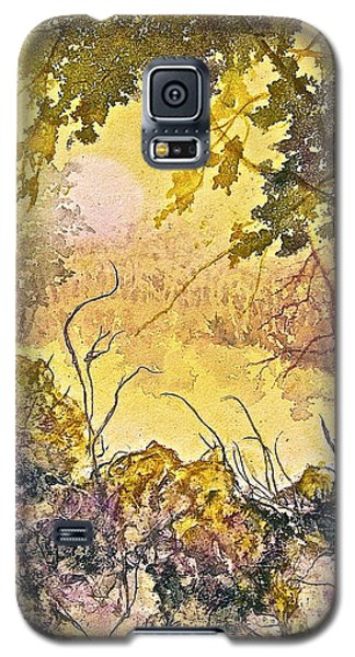 Galaxy S5 Case featuring the painting Morning Serenity by Carolyn Rosenberger