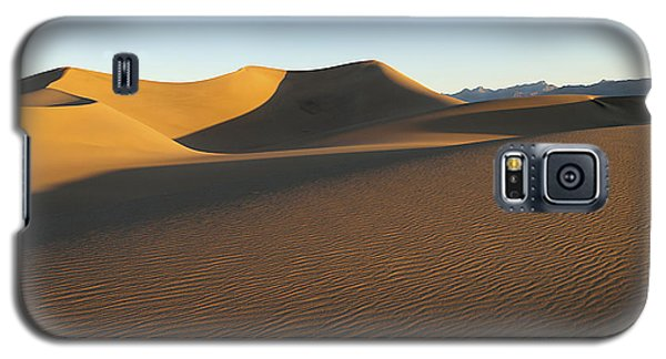 Galaxy S5 Case featuring the photograph Morning Shadows by Joe Schofield