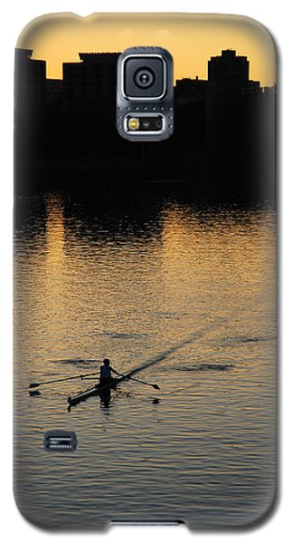 Galaxy S5 Case featuring the photograph Morning Solitude by James Kirkikis