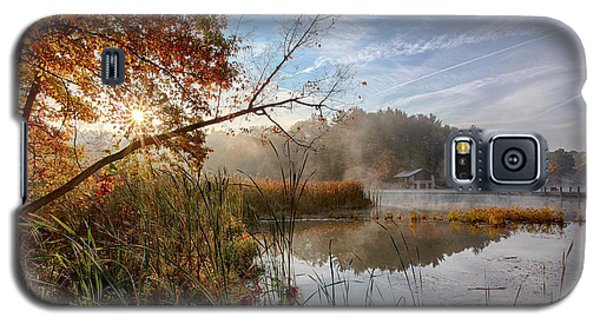 Galaxy S5 Case featuring the photograph Morning Sun by Daniel Behm