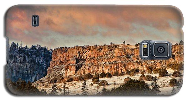 Morning Sun On The Ridge Galaxy S5 Case