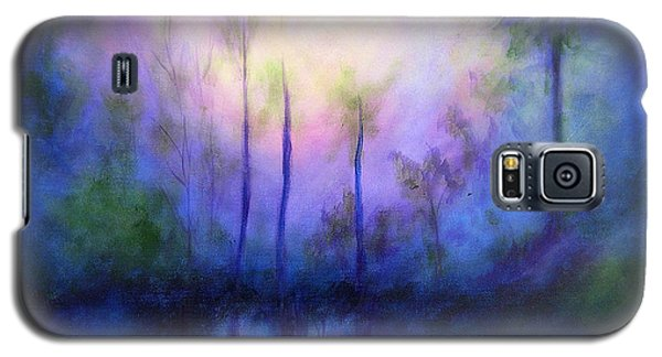Galaxy S5 Case featuring the painting Morning Symphony by Alison Caltrider