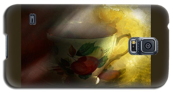 Morning Tea With Peony Galaxy S5 Case by Jeff Burgess