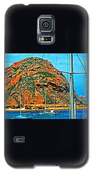 Moro Bay Sailing Boats Galaxy S5 Case