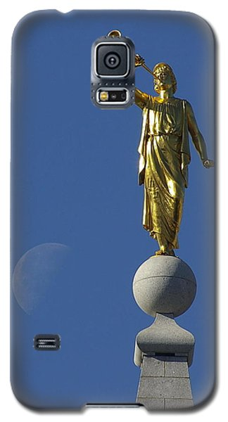 Moroni And The Moon Galaxy S5 Case by David Andersen
