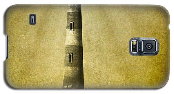 Morris Island Light Bw Vintage Galaxy S5 Case