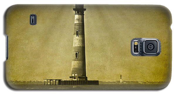 Morris Island Light Vintage Bw Uncropped Galaxy S5 Case