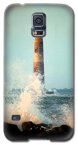 Morris Island Lighthouse Galaxy S5 Case by Lynne Jenkins