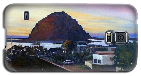Morro Rock At Night Galaxy S5 Case